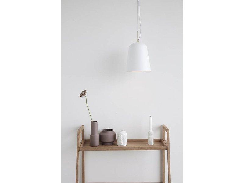 Hubsch Hanglamp wit metaal
