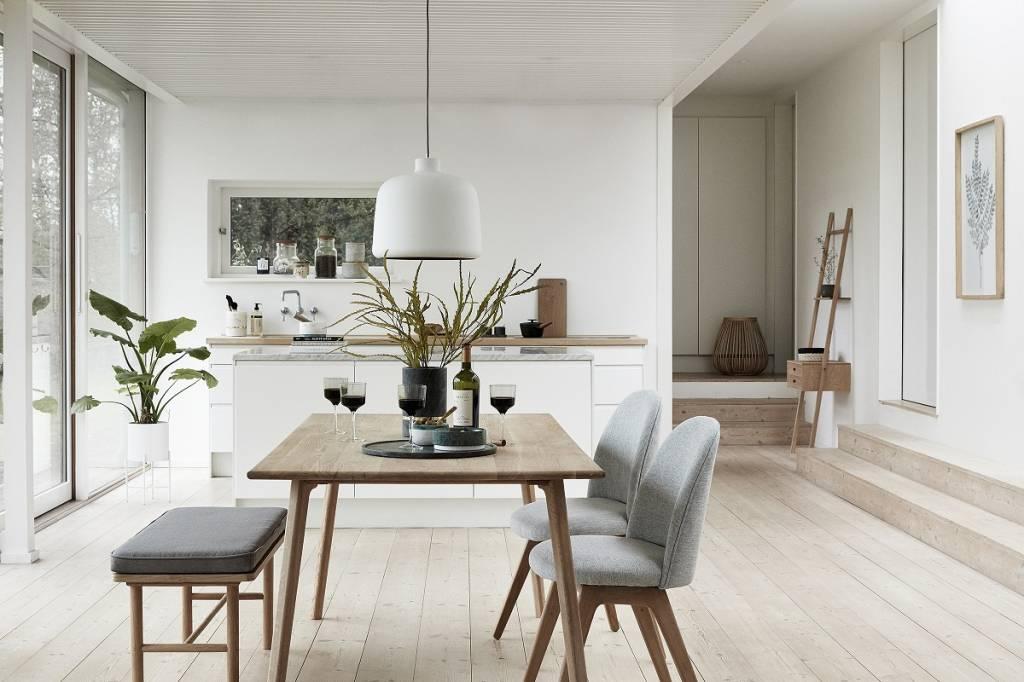 Hübsch hanglamp wit aluminium living and co