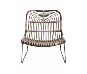 House Doctor Kawa rattan lounge chair