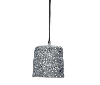 Hubsch Hanglamp terrazzo beton grijs