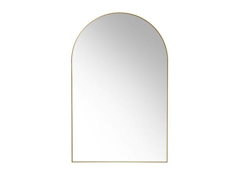 HK-Living specchio a muro in ottone - LIVING AND CO.