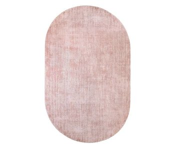 HK-Living Oval rug nude viscose