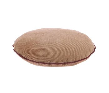 HK-Living Pillow corduroy brown