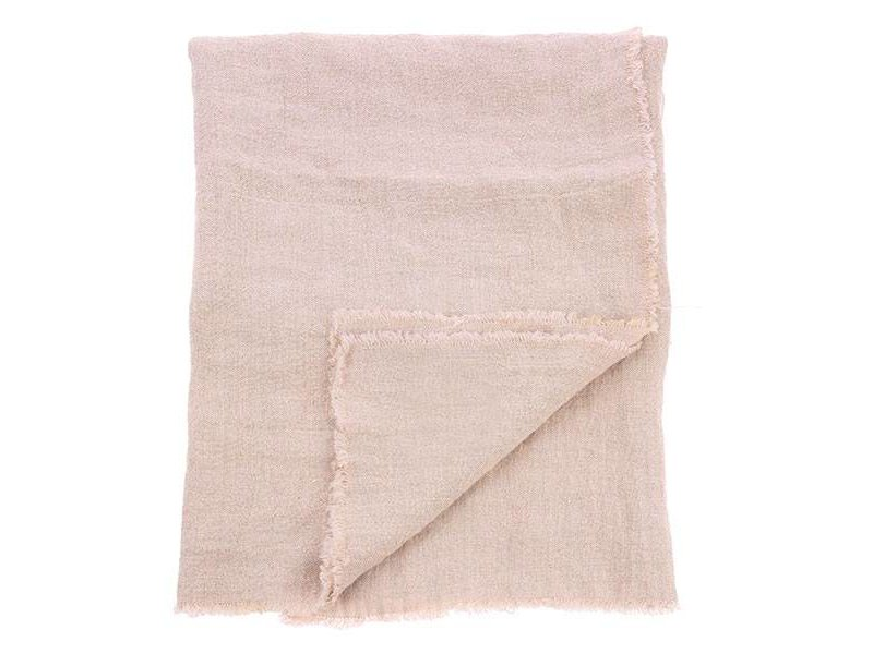 HK-Living Tablecloth salmon-colored linen
