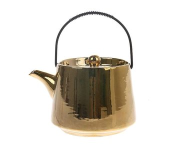 HK-Living Teapot gold