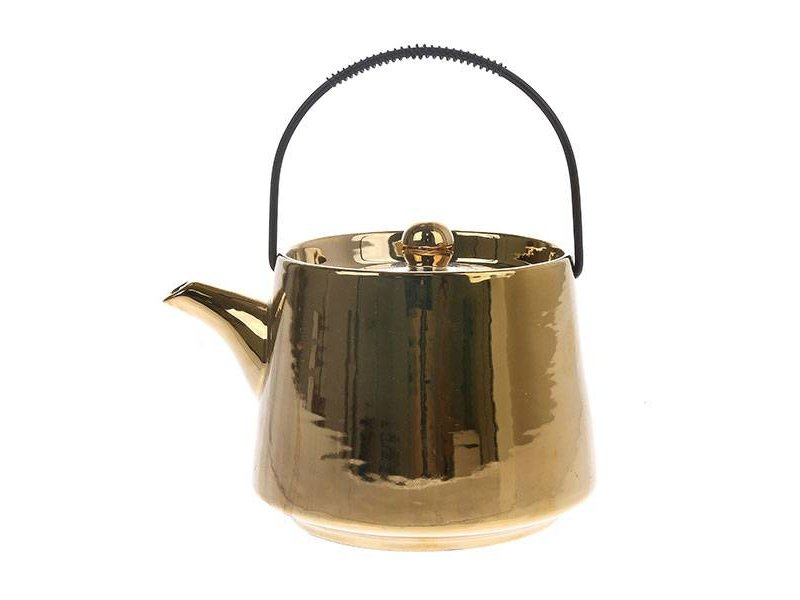 Hk Living Kapstok.Teapot Gold