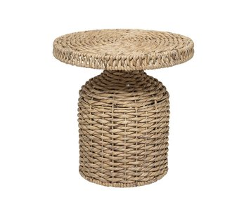 Bloomingville Camo side table natural rattan