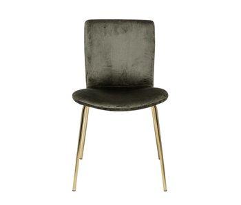 Bloomingville Bloom chair green - set of 2