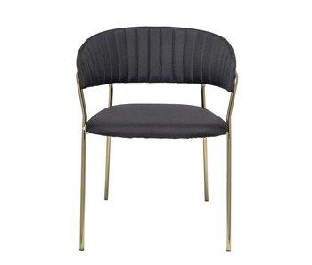 Bloomingville Form stoel zwart - set van 2