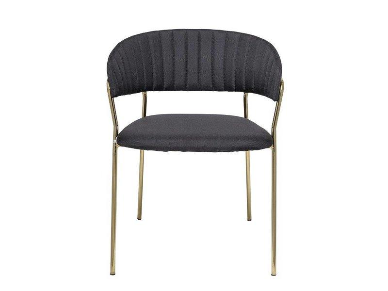 Bloomingville Form stoel zwart