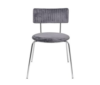 Bloomingville Wave chair gray - set of 2 pieces
