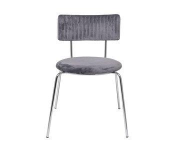Bloomingville Wave Stuhl grau - Set von 2 Stück