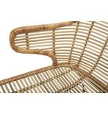 Bloomingville Lake lounge stol naturlig rattan