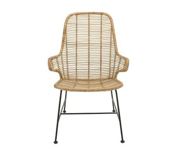 Bloomingville Lake lounge chair natural rattan