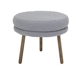 Bloomingville Child pouf gray