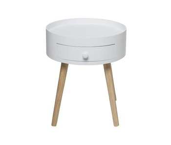 Bloomingville First side table white