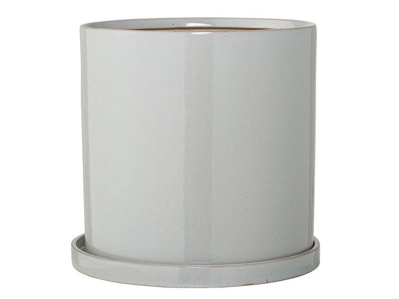 Bloomingville Blomkruka med parabolgråa keramik