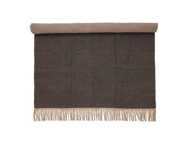 Bloomingville Teppich graue Baumwolle