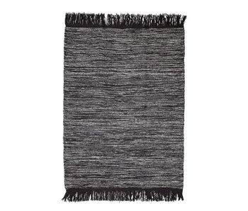 Bloomingville Tapis de laine grise