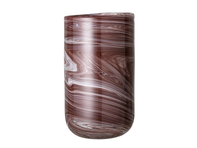 Bloomingville Vase Brown Glass Living And Co
