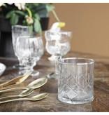 House Doctor Vintage whiskyglas Ø8x9cm - uppsättning 12 stycken