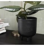 House Doctor Jang blomkruka svart Ø15cm