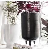 House Doctor Jang bloempot zwart Ø15cm