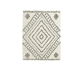 House Doctor Nubia tapis blanc 210x160cm