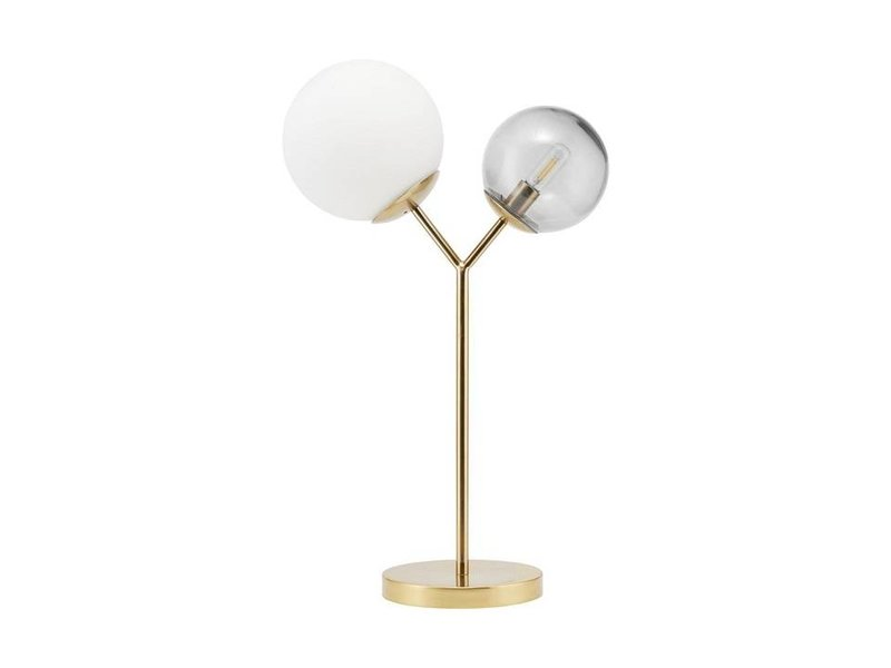 House Doctor Twice brass table lamp