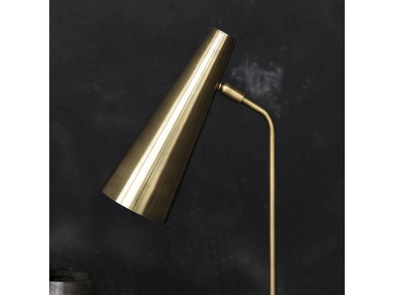 House Doctor Precise brass table lamp