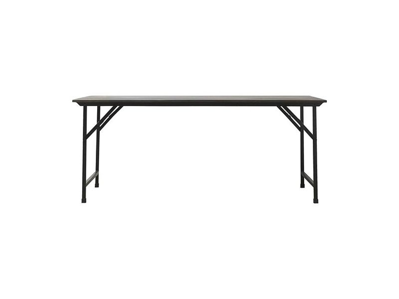 House Doctor Party table black