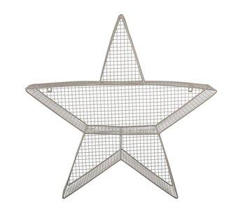 Bloomingville Mini Caja de presentación con forma de estrella