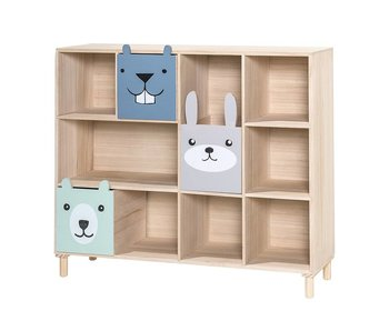 Bloomingville Mini Bookcase with drawers
