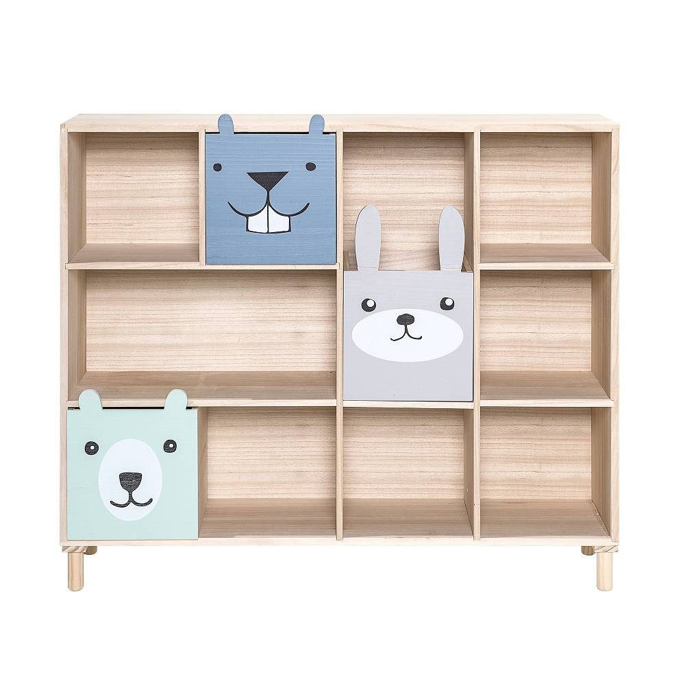 Bloomingville Mini libreria con cassetti - LIVING AND CO.