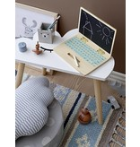 Bloomingville Mini Side table set of white wood clouds