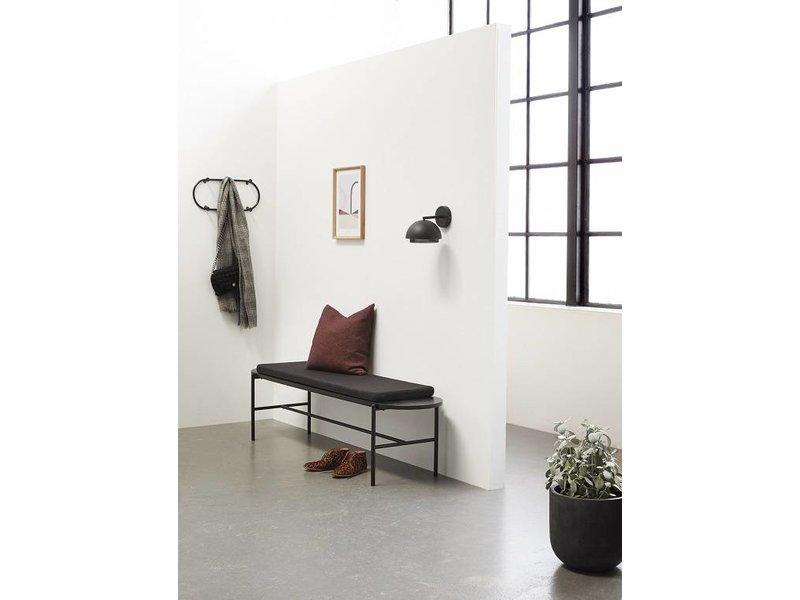 Hübsch Wall Lamp Black Metal Living And Co