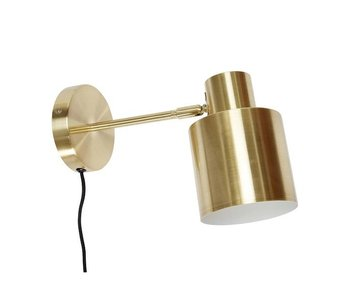 Hubsch Wall light brass