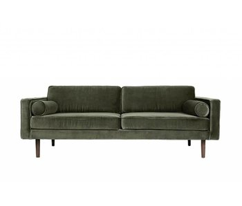 Broste Copenhagen Wind bank velvet green