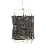 Ay Illuminate Hængelampe Z2 blond bambus sort karton ø67x100cm