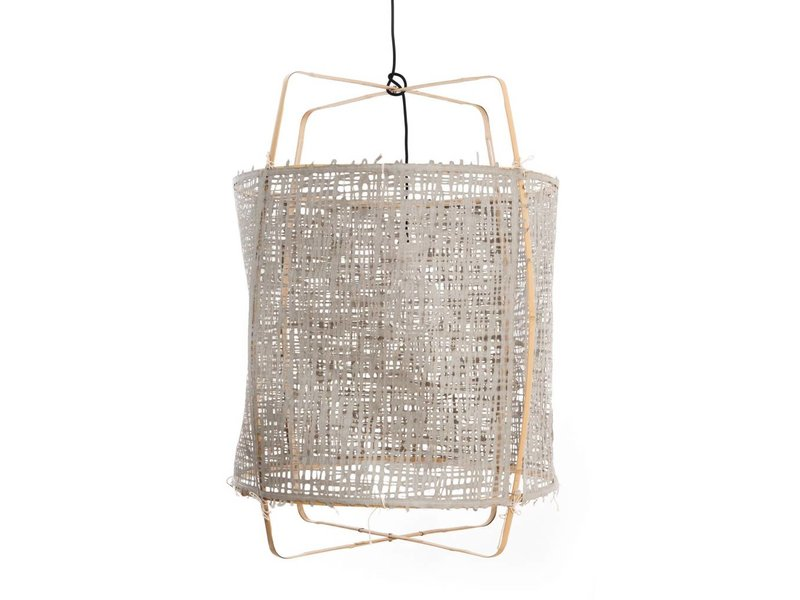 Ay Illuminate Lampen : Ay illuminate z hanging lamp blond with grey cover living and co