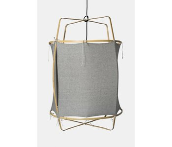 Ay Illuminate Suspension Z2 blond coton gris ø67x100cm