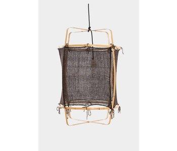 Ay Illuminate Hanglamp Z2 bamboe blond zwart cashmere ø67x100cm