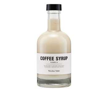 Nicolas Vahé S3 café vanille Sirop 25 cl