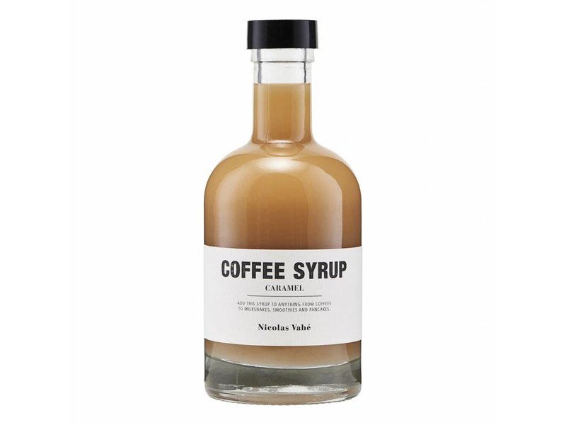 Nicolas Vahé S1 Kaffe Caramel Syrup 25 cl