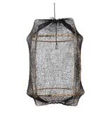 Ay Illuminate Hanglamp Z2 blond sisal net zwart ø67x100cm