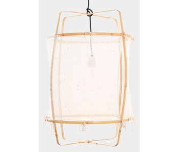Ay Illuminate Hanging lamp Z2 blonde white cashmere ø67x100cm