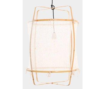 Ay Illuminate Hanglamp Z2 blond wit cashmere ø67x100cm