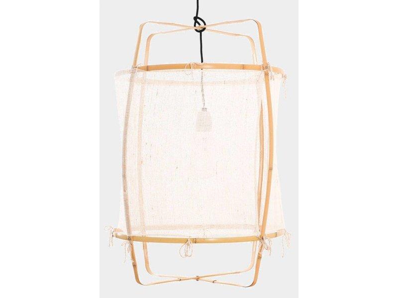 Ay Illuminate Hængelampe Z2 blond hvid cashmere ø67x100cm