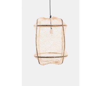 Ay Illuminate Hanglamp Z5 zwart sisal net tea doek ø42x57cm