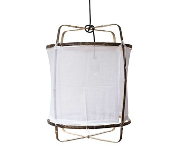 Ay Illuminate Hanging lamp Z5 white cotton ø42x57cm